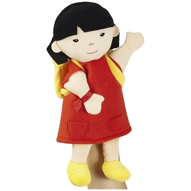 Εικόνα της Βαμβακερή κούκλά Ασιάτισσα