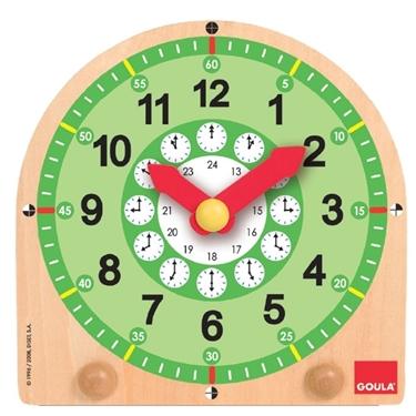 Εικόνα της Ξύλινο ρολόι.