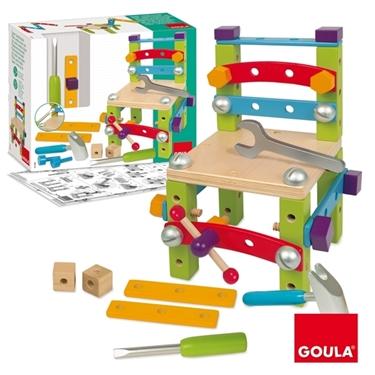 Εικόνα της Ξύλινο παιχνίδι κατασκευών.