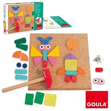Εικόνα της Παιχνίδι με φελλό και καρφάκια.
