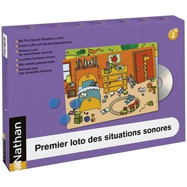 Εικόνα της Λόττο ήχων για μικρά παιδιά.
