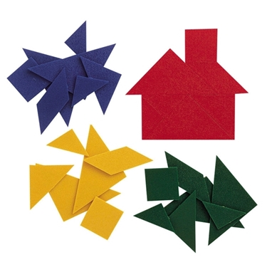 Εικόνα της Πλαστικά tangram.