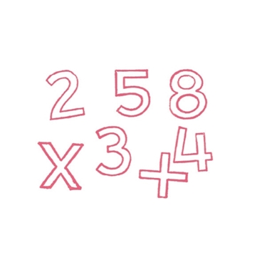 Εικόνα της Σφραγίδες αριθμών από το 0 εώς το 9
