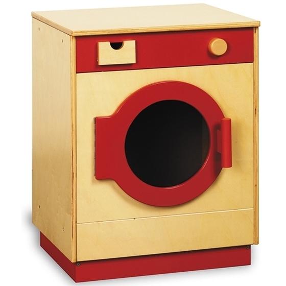 Εικόνα της Πλυντήριο ρούχων σε κόκκινο χρώμα