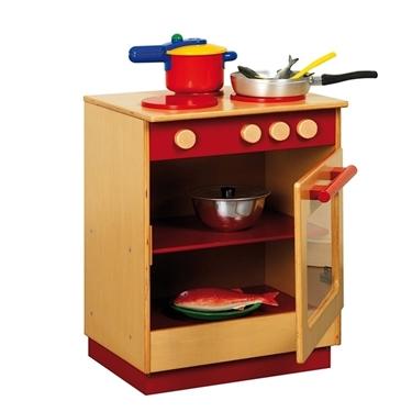 Εικόνα της Κουζίνα σε κόκκινο χρώμα