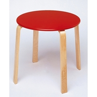 Εικόνα της Τραπέζι κουζίνας σε κόκκινο χρωμα