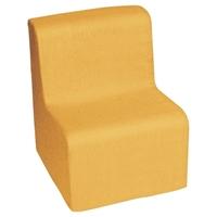 Εικόνα της Χαμηλή πολυθρόνα πορτοκαλί