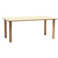 Εικόνα της Ξύλινο ορθογώνιο τραπέζι