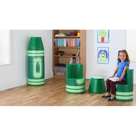 """Εικόνα της Set καθισμάτων μολύβι""""Πράσινο"""""""