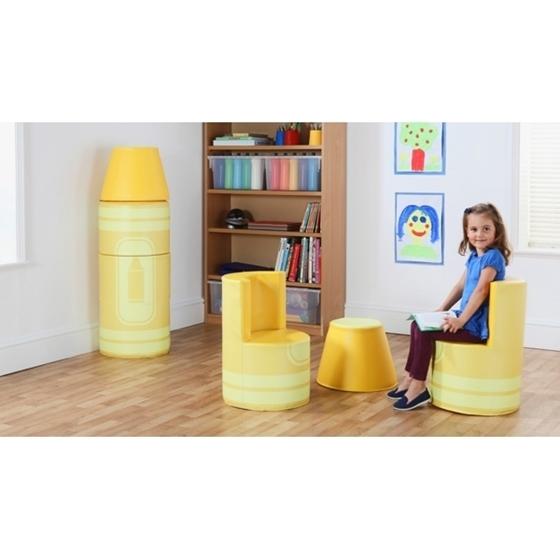 """Εικόνα της Set καθισμάτων μολύβι. """"Κίτρινο"""""""