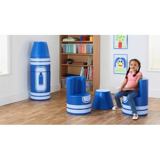 """Εικόνα της Set καθισμάτων μολύβι """"Μπλε"""""""