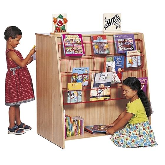 Εικόνα της Βιβλιοθήκη και αποθηκευτική μονάδα με ράφια