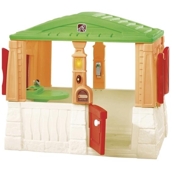 Εικόνα της Πλαστικό σπίτι με δραστηριότητες.
