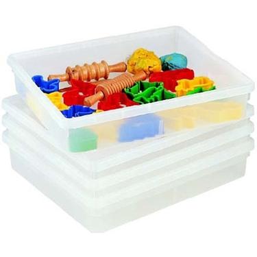 Εικόνα της Ρηχό πλαστικό  κουτί