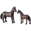 Εικόνα της Μαμά και μωρό αλογάκια.