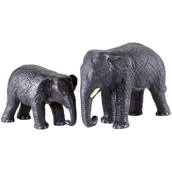 Εικόνα της Μαμά και μωρό ελέφαντες.