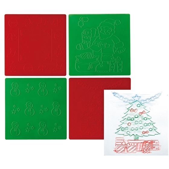 Εικόνα της Χριστουγεννιάτικα πλακάκια.
