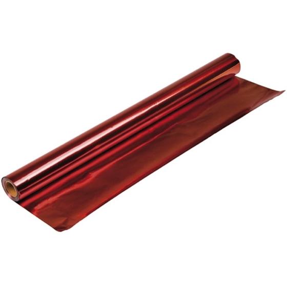 Εικόνα της Κόλλα μεταλλιζέ διπλής όψης σε κόκκινο χρώμα.