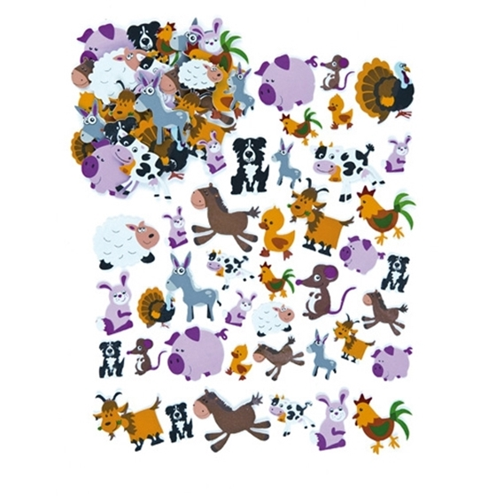 Εικόνα της Αφρώδη ζώα φάρμας.