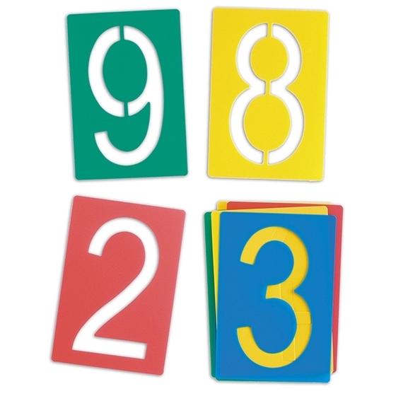 Εικόνα της Στένσιλ αριθμοί.