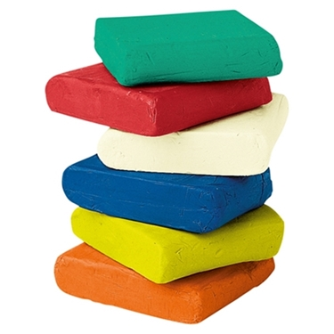 Εικόνα της Πλαστελίνη βασικά χρώματα