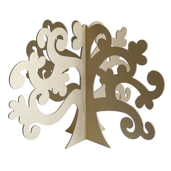 Εικόνα της Ξύλινο τρισδιάστατο δέντρο.