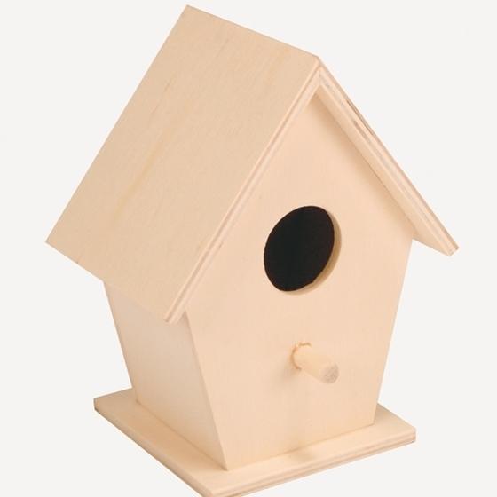 Εικόνα της Ξύλινη φωλιά πουλιού.