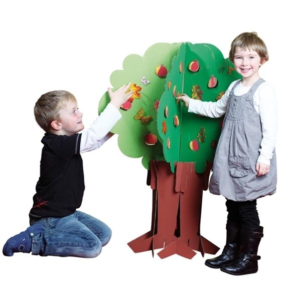 Εικόνα της Τρισδιάστατο δέντρο από σκληρό χαρτόνι.