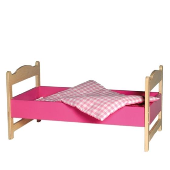 Εικόνα της Ξύλινο κρεβάτι κούκλας.