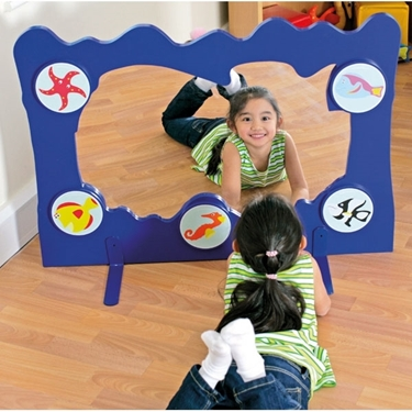 Εικόνα της  Χειροποίητο διαχωριστικό χώρου με καθρέφτη