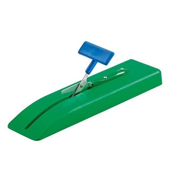 Εικόνα της Επιτραπέζιο ψαλίδι με πλαστική βάση.