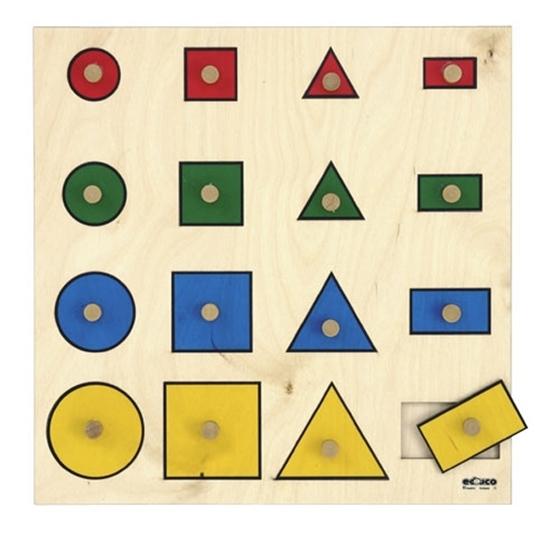 Εικόνα της Σφηνώματα γεωμετρικών σχημάτων