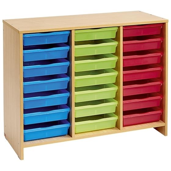 Εικόνα της Συρταριέρα με 21 χρωματιστά