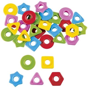 Εικόνα της Χάντρες διαφορετικών σχημάτων και χρωμάτων