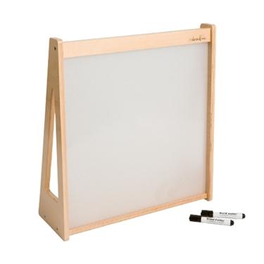 Εικόνα της Επιτραπέζιος πίνακας μαρκαδόρου με ξύλινο πλαίσιο