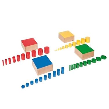 Εικόνα της Set Of Knobless Cylinders