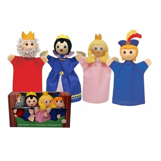 Εικόνα της Κούκλες κουκλοθεάτρου «Βασιλική Οικογένεια».