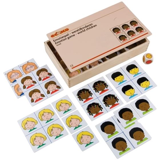 Εικόνα της Παιχνίδι συναισθημάτων «Τα παιδιά του κόσμου»