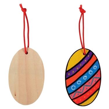 Εικόνα της Ξύλινα αυγά για διακόσμηση