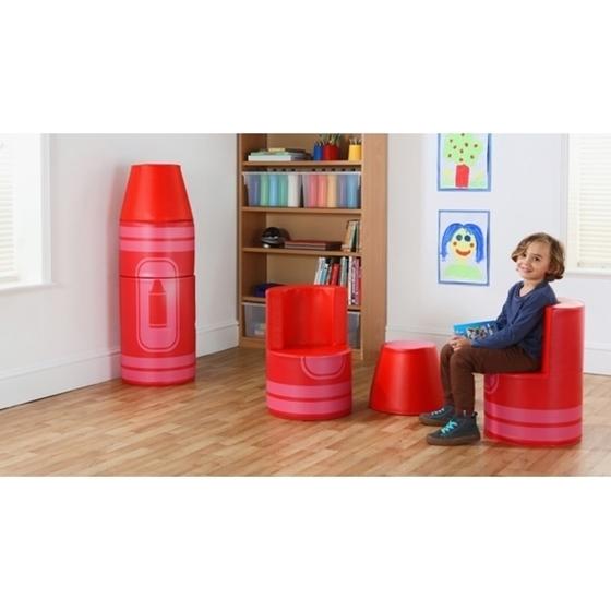 """Εικόνα της Σετ καθισμάτων μολύβι """"Κόκκινο"""""""