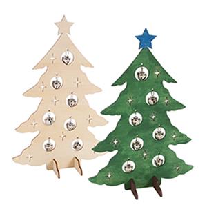 Εικόνα της Ξύλινο χριστουγεννιάτικο δέντρο