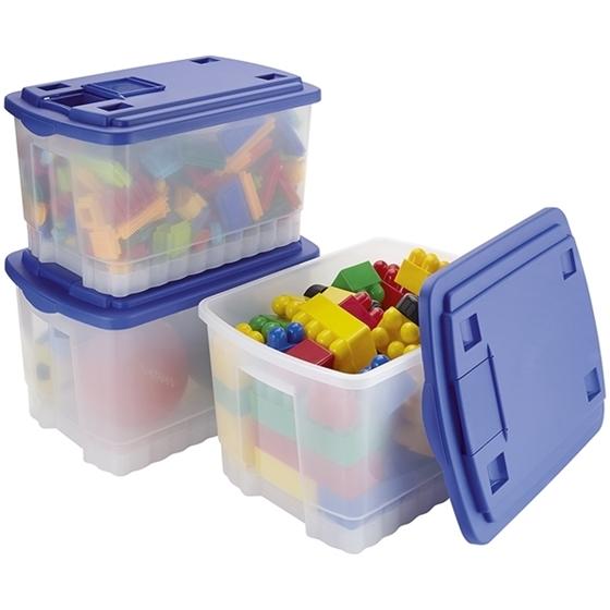 Εικόνα της Πλαστικό κουτί αποθήκευσης με καπάκι