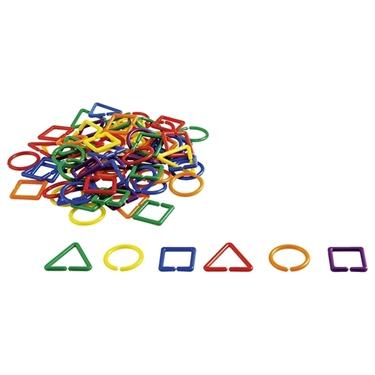 Εικόνα της Πλαστικές αλυσίδες γεωμετρικών σχημάτων