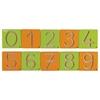 """Εικόνα της Ξύλινα στένσιλ """"Αριθμοί 0-9"""""""