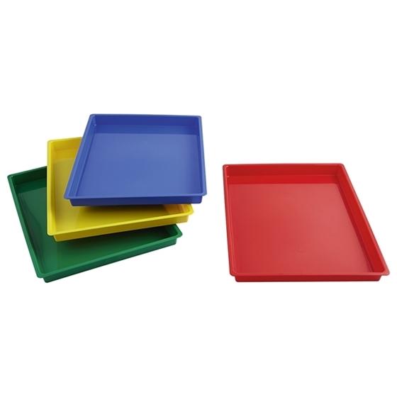 Εικόνα της Σετ 4 πλαστικά δισκάκια