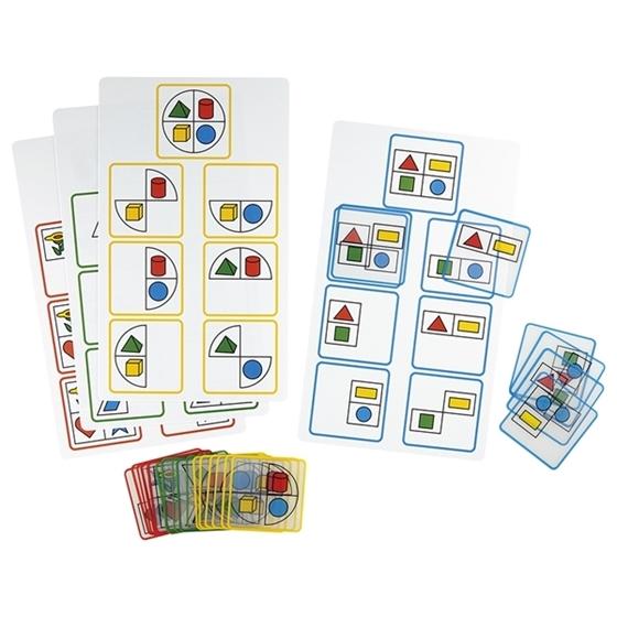 """Εικόνα της Παιχνίδι με διαφάνειες"""" Σχήμα & Χρώμα"""" Νο 1"""
