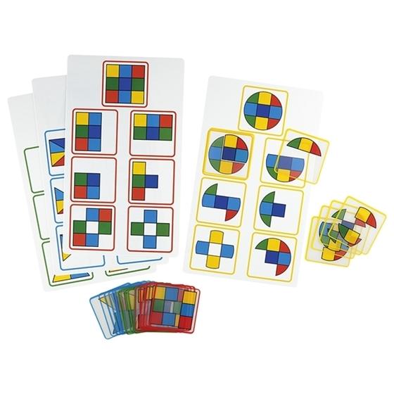"""Εικόνα της Παιχνίδι με διαφάνειες"""" Σχήμα & Χρώμα"""" Νο 2"""
