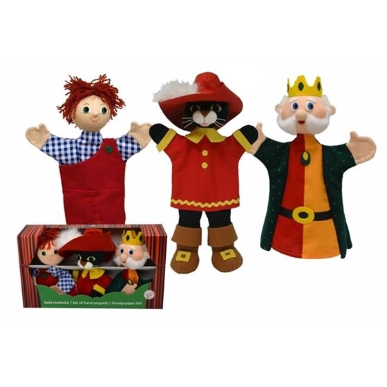 Εικόνα της Κούκλες κουκλοθεάτρου «Παπουτσωμένος Γάτος».