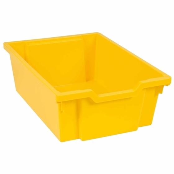 """Εικόνα της Συρτάρι αποθήκευσης κίτρινο βαθύ """"Montessori"""""""