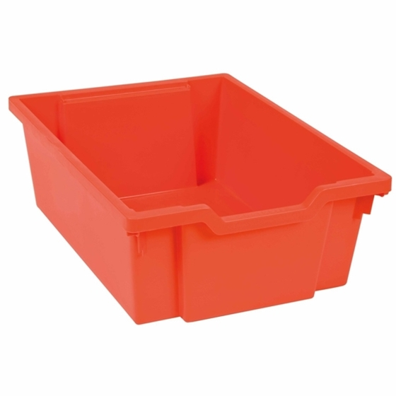 """Εικόνα της Συρτάρι αποθήκευσης κόκκινο βαθύ """"Montessori"""""""